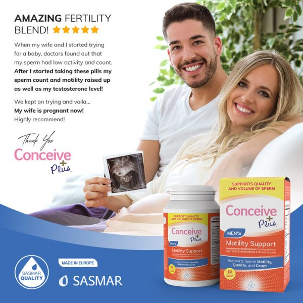 Conceive Plus review Motility Support supplement for low sperm count